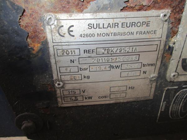 Immagine n. 6 - 10#5085 Compressore carrellato Sullair