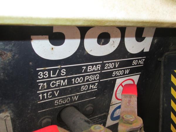 Immagine n. 7 - 10#5085 Compressore carrellato Sullair