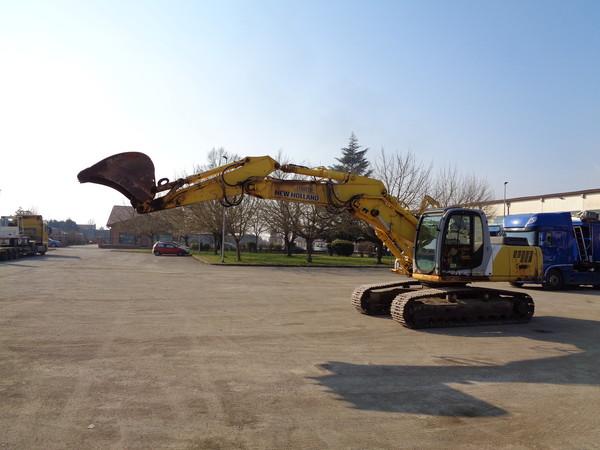 Immagine n. 3 - 25#5085 Escavatore cingolato New Holland