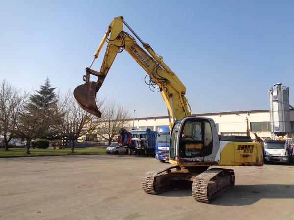 Immagine n. 17 - 25#5085 Escavatore cingolato New Holland