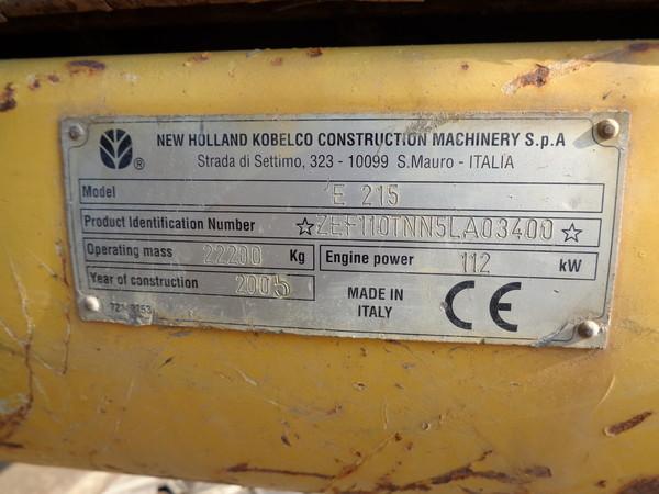 Immagine n. 18 - 25#5085 Escavatore cingolato New Holland