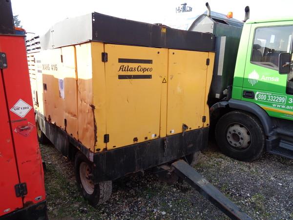 Immagine n. 2 - 33#5085 Motocompressore Atlas Copco