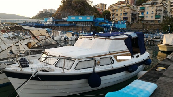 1#5088 Barca a motore Sagatour 27
