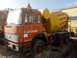 Fiat Iveco Magirus concrete mixer truck - Lote 1 (Subasta 5091)