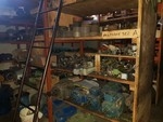 Metal shelving - Lot 19 (Auction 5098)