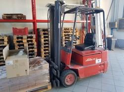 Linde E15 forklift truck - Lot 5 (Auction 5101)