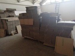 Packaging cardboard boxes - Lot 7 (Auction 5122)
