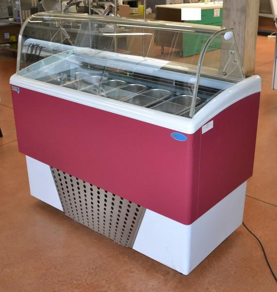 6#5156 Vetrina gelato ventilata Italproget Brio