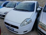 Fiat Grande Punto car - Lot 3 (Auction 5189)