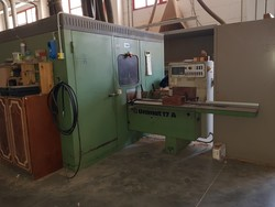 Weinig moulder with Imas soundproof cabin - Lot 5 (Auction 5191)