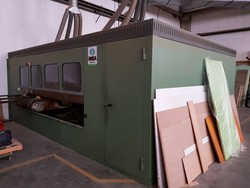 Celaschi squaring machine with Imea soundproof cabin - Lot 8 (Auction 5191)