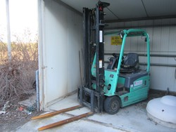 Mitsubishi forklift truck - Lot 1 (Auction 5195)