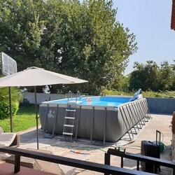 Furniture and above ground swimming pool - Lot 0 (Auction 5200)