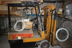 Forklift truck and transpallet - Lot 35 (Auction 5203)