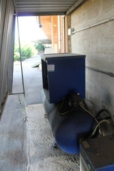 Ceccato compressor and dryer - Lot 15 (Auction 5214)