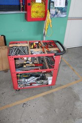nr 1 Tool trolley - Lot 28 (Auction 5214)