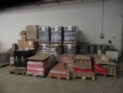 Stock di tonno sardine e tentacoli in scatola - Lotto 0 (Asta 5215)