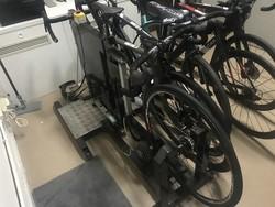 Macchinario di rilevazione misure antropometriche ciclisti