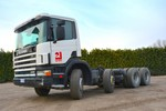 Autocarro Scania CVP114GB8X4 - Lotto 1 (Asta 5228)