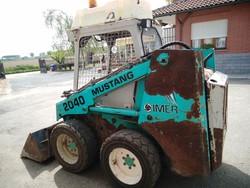 Skid steer Imer Mustang 20 40 - Lote 170 (Subasta 5232)