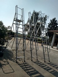 Aluminum staircase - Lot 212 (Auction 5232)