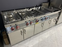 Full gas kitchen - Lot 15 (Auction 5234)