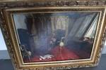 Immagine 3 - La capitolazione dei Repubblicani a Napoli Olio su tela - Lotto 1 (Asta 5275)