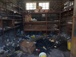 Metal shelving and lockers - Lot 7 (Auction 5282)