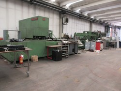 Berco boring machine and Mola Ceccato lathe - Lot 2 (Auction 5299)