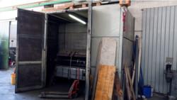 Segatrice automatica Bianco e trapano a colonna - Lotto 0 (Asta 5301)