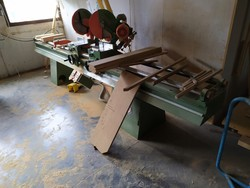 OMS double cutting off machine and BI MATIC edge bander - Lot 8 (Auction 5304)