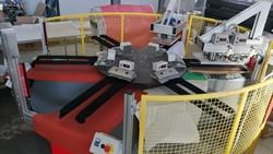 Carousel for hot application and Alfa Digital Tek ind serigraphic digital printer - Lot 0 (Auction 5315)