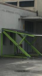 Pensilina fotovoltaica usata - Lotto 15 (Asta 5328)