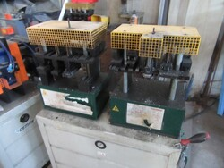 Oemme punching machines and Fervi belt sander - Lot 0 (Auction 5339)