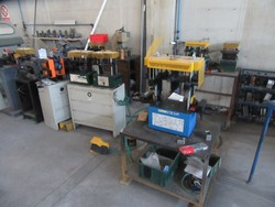Oemme punching machines and Tekna gluing machine - Lot 25 (Auction 5339)
