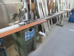 Pedrazzoli manual miter saw - Lot 31 (Auction 5339)