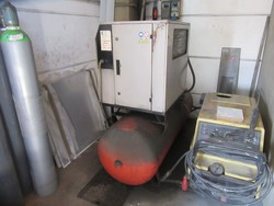Fini compressor and Ceccato dryer - Lot 9 (Auction 5339)