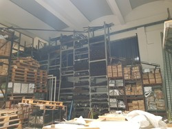 Ital Momet industrial shelving - Lot 35 (Auction 5372)