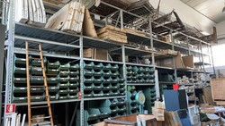 Ital Momet industrial shelving - Lot 36 (Auction 5372)