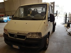 Fiat Ducato van - Lot 13 (Auction 5374)