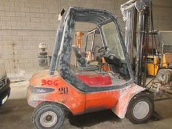 Linde forklift - Lot 18 (Auction 5374)