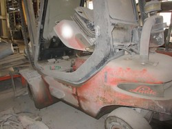 Linde forklift - Lot 21 (Auction 5374)