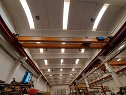 Omis single girder bridge crane - Lot 10 (Auction 5389)
