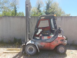 Linde forklift - Lot 14 (Auction 5405)