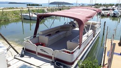 Pontoon Southland boat Champagne 26 - Lotto 0 (Asta 5411)