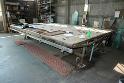Cutting table and glass processing equipmen - Lot 1 (Auction 5412)