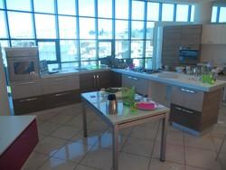 Cucina angolare bianco rovere - Lotto 10 (Asta 5419)