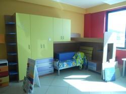 Bedroom with Bonatuci mezzanine and desk - Lot 14 (Auction 5419)
