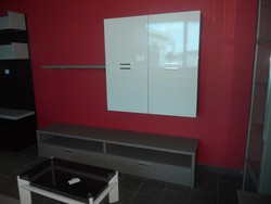 Premobil wall system and Tancredi sofa - Lot 36 (Auction 5419)