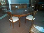 Tavolo e sedie - Lotto 57 (Asta 5419)